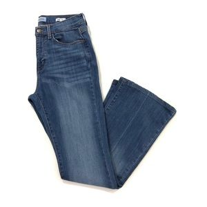 Banana Republic High Rise Flare Jeans